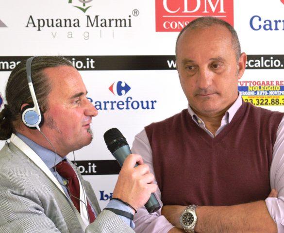 Video Intervista esclusiva a L. Magrini dopo Massese - R. F. Querceta 1 - 1 dello 06/05/18