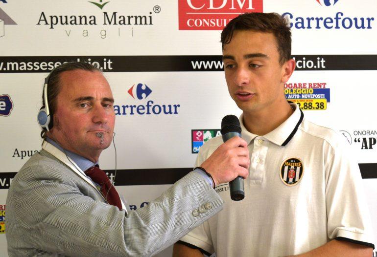 Video intervista esclusiva ad A. Raimo dopo Massese – R. F. Querceta 1 – 1 dello 06/05/18