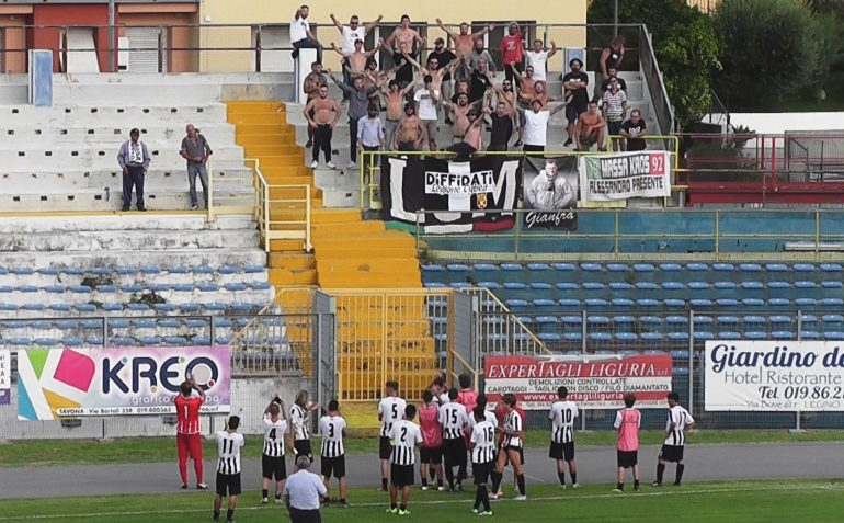 Savona Massese 8 – 0; Coppa Italia 18/19. Highlights di Umberto Meruzzi dello 02/09/18