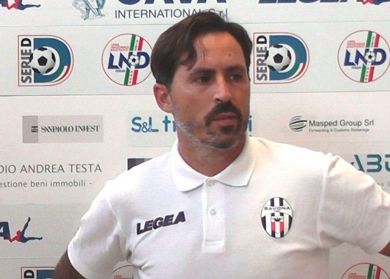 1° turno Coppa Italia Savona – Massese 8 – 0; intervista ad A. Grandoni dello 02/09/18