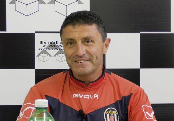 Conferenza stampa di V. Bonuccelli prima di Trestina - Massese. Del 19/10/18