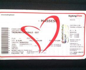 Massese - Viareggio 2014: limitazione alla vendita dei titoli d'ingresso.
