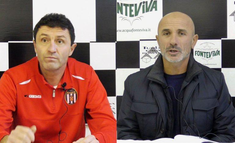 Conferenza stampa Bonuccelli e Manfredi prima di Massese – Tuttocuoio. Dello 04/01/19