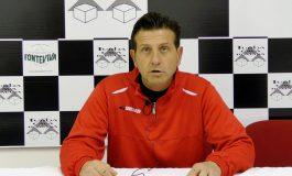 Conferenza stampa di P. Malfanti prima di Prato - Massese. Dello 01/02/19