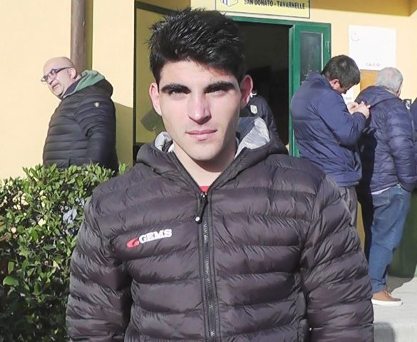San Donato Tavarnelle - Massese 2 - 0. Intervista a G. Bonni del 17/03/19