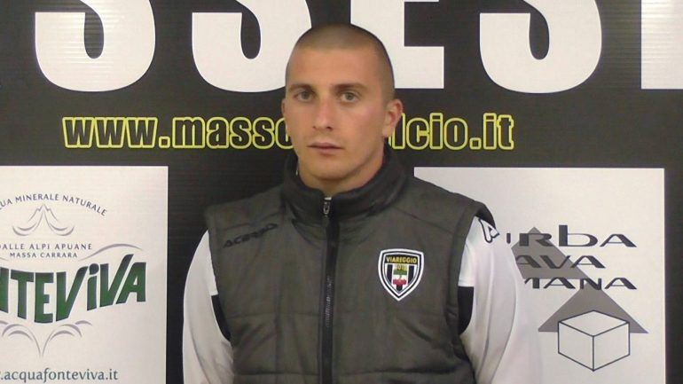 Massese – Viareggio 2014 0 – 0. Video-intervista a M. Cipriani del 14/04/19