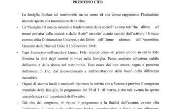 """MASSA - Documento Lega sulla """"famiglia tradizionale"""": critiche dall'opposizione"""