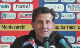 Aquila Montevarchi - Massese 2 - 0. Video intervista a P. Malfanti dello 05/05/19