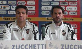 Aquila Montev. - Massese 2 - 0. Video intervista a T. Pedruzzi ed A. Mariotti dello 05/05/19