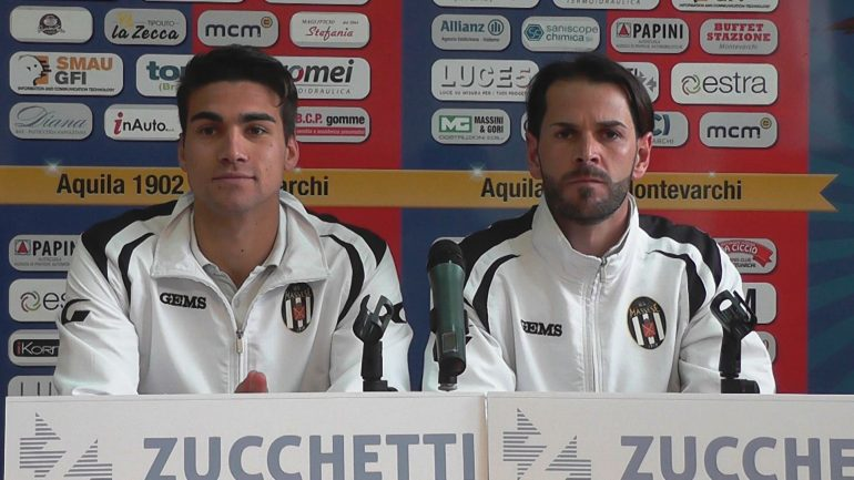Aquila Montev. – Massese 2 – 0. Video intervista a T. Pedruzzi ed A. Mariotti dello 05/05/19