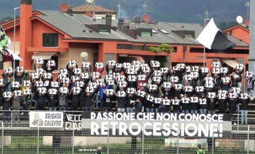 Aquila Montevarchi - Massese 2 - 0. La partita della curva massese dello 05/05/19