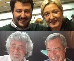 La strategia del camaleonte: i neo-populismi da Marine Le Pen a Grillo e Salvini