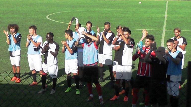 Atletico Cenaia – Massese 0 – 1 . La festa coi tifosi.