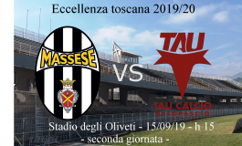 Massese - Tau calcio, i convocati e novità prima della partita