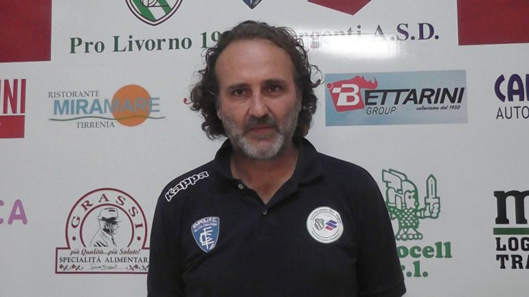 Pro Livorno Sorgenti – Massese 4 – 2. Video intervista esclusiva di Umberto Meruzzi a M. Niccolai del 27/10/19