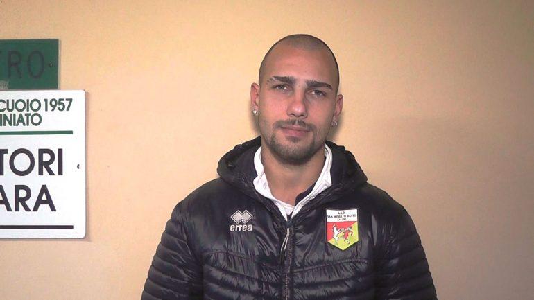 San Miniato Basso – Massese 1 – 1. Video intervista di Umberto Meruzzi a G. Pirone del 24/11/19