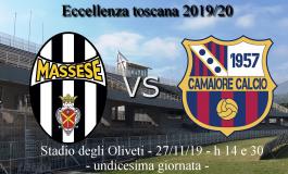 Domani termina Massese - Camaiore.