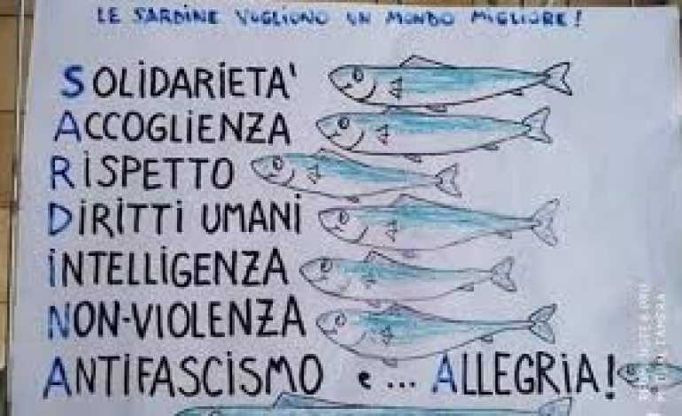 Una sardina nel mare