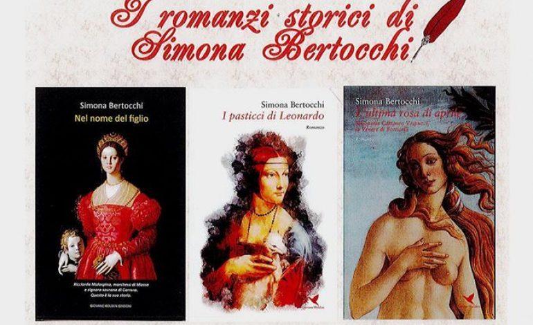 AUTORI APUANI – Simona Bertocchi presenta i suoi romanzi storici in un incontro dedicato al Rinascimento