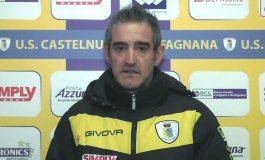 Castelnuovo Garfagnana - Massese 2 - 0. Video intervista esclusiva di Umberto Meruzzi a M. Biggeri dello 09/02/20
