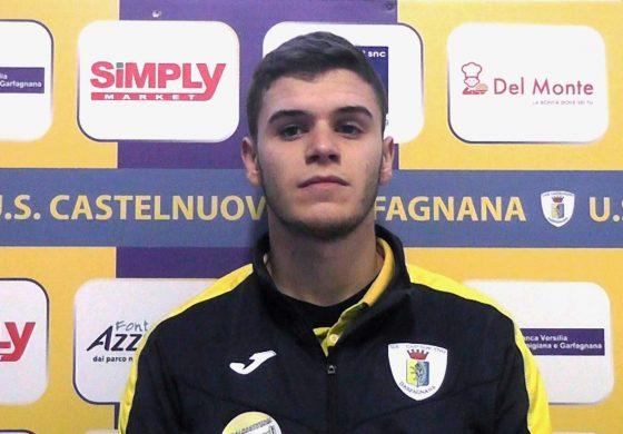 Castelnuovo Garfagnana - Massese 2 - 0. Video intervista esclusiva di Umberto Meruzzi a F. Piacentini dello 09/02/20