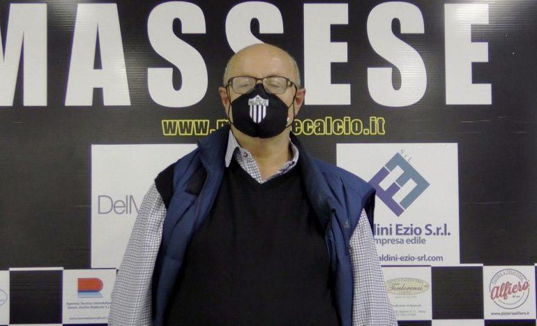 Massese – S. Marco Avenza 0 – 1. Coppa Italia. Intervista a D. Pantera.
