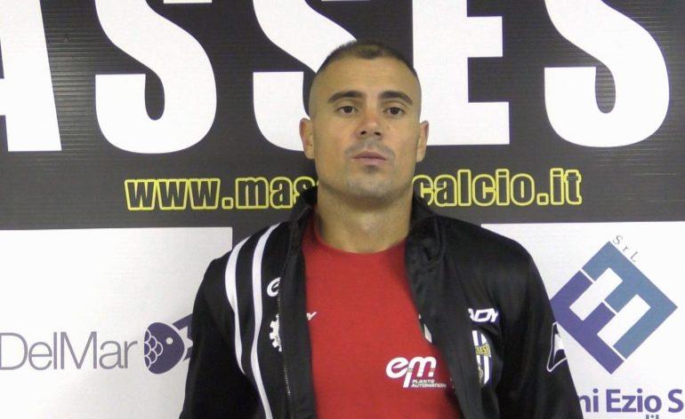 Massese – S. Marco Avenza 0 – 1. Coppa Italia. Intervista a M. Rudi.