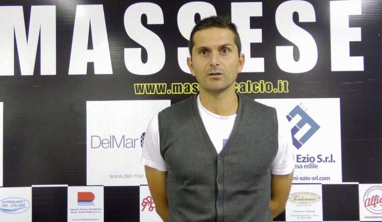 Massese – S. Marco Avenza 0 – 1. Coppa Italia. Intervista a S. Turi.