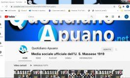 Domani, sabato 24, sul canale sociale ufficiale della Massese, diretta Massese - Migliarino Vecchiano Juniores