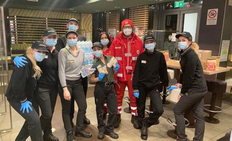 MASSA – McDonald's e Fondazione Ronald McDonald doneranno insieme a Banco Alimentare Toscana 100 pasti caldi a settimana