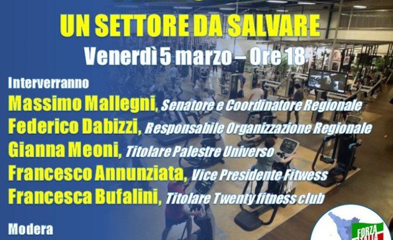 """""""PALESTRE, UN SETTORE DA SALVARE"""" – Incontro online di Forza Italia Toscana con imprenditori del settore"""