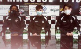 Conferenza stampa di Osamudiamen Igbineweka, Alessandro Sgadò e Luca Bonini del 29/04/21