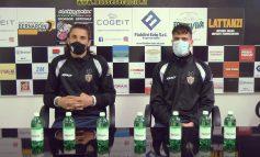 """In diretta dalla sala stampa dello stadio """"G. Vitali"""" conf. stampa Y. Papi e S. Michelotti"""