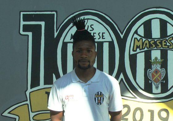 Massese - Tau Calcio 2 - 0. Video-intervista ad O. Igbineweka dello 02/06/21