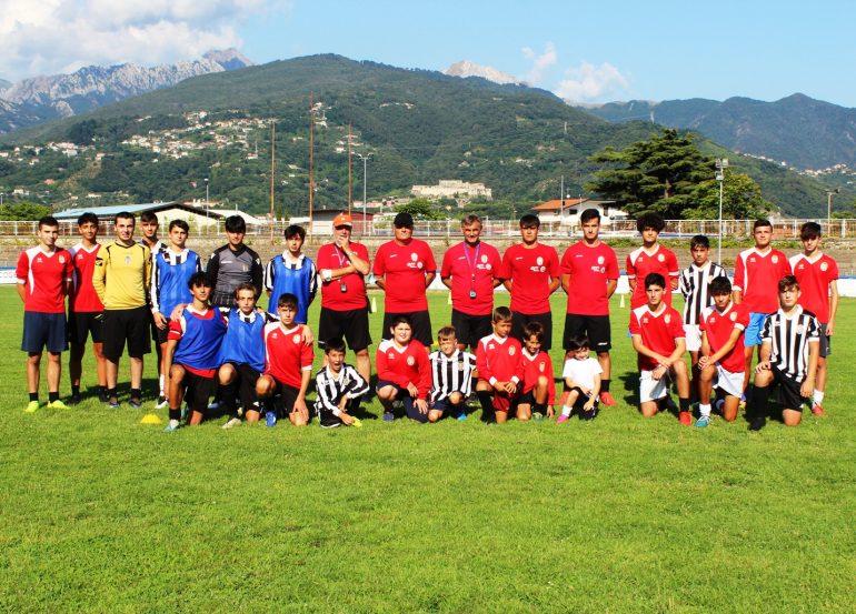 """Primo """"Open day"""" per il nuovo settore giovanile e scuola calcio della Massese (servizio con ampia documentazione fotografica)"""