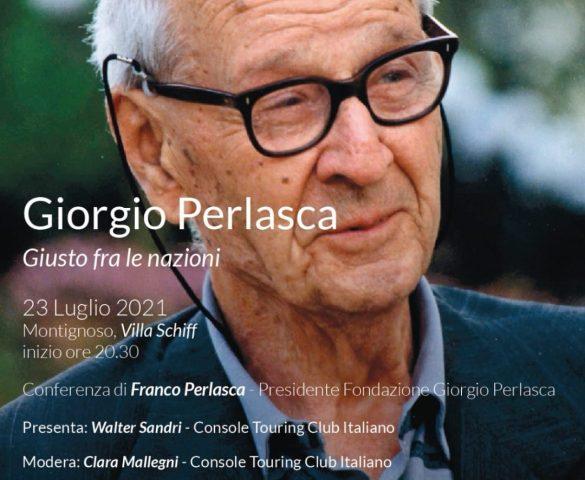 MONTIGNOSO - Conferenza con Franco Perlasca, figlio di Giorgio Perlasca
