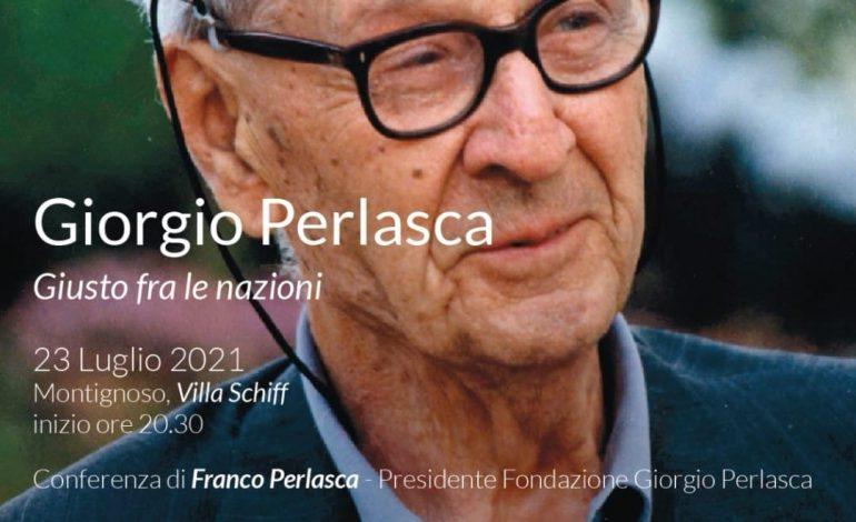MONTIGNOSO – Conferenza con Franco Perlasca, figlio di Giorgio Perlasca
