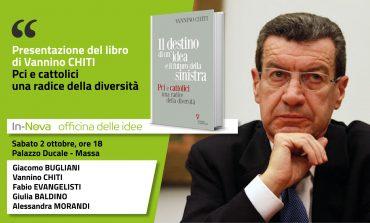 Vannino Chiti a Massa sabato 2 ottobre per presentare il suo libro