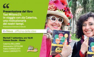 """PRIMO EVENTO DELLA NEONATA IN-NOVA.MASSA - La presentazione del libro """"Taxi Milano 25"""""""